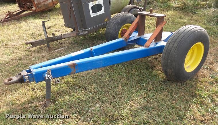 Gooseneck trailer dolly