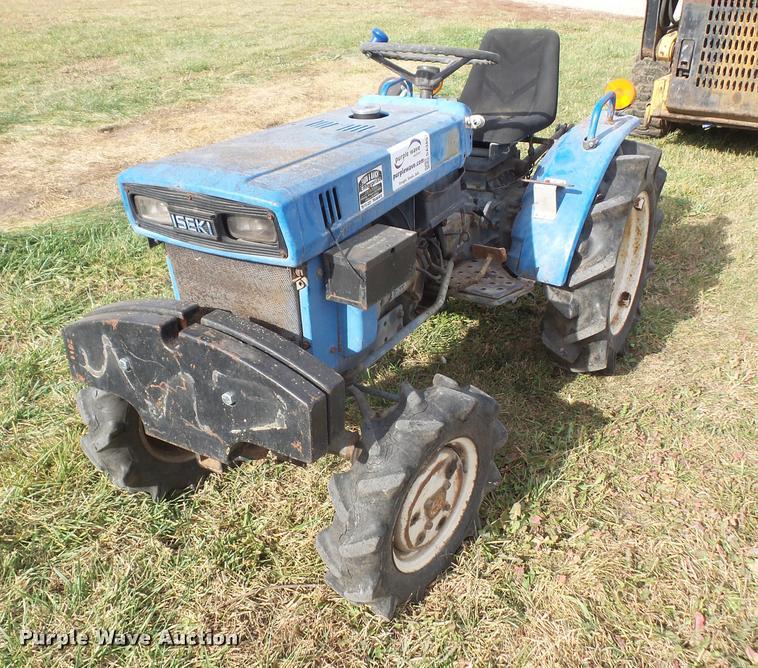 Iseki TX1500F MFWD tractor