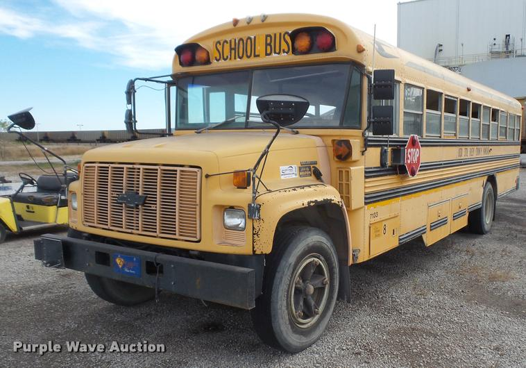 1996 Chevrolet Blue Bird school bus