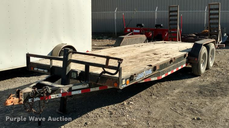 2013 Load Trail equipment trailer