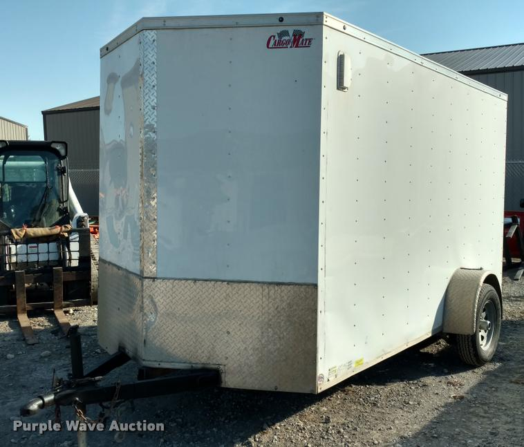 2015 Continental Cargo enclosed cargo trailer