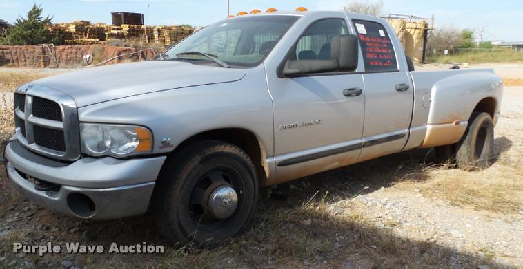 2005 Dodge Ram 3500 Quad Cab pickup truck