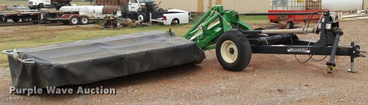 John Deere 285 disc mower with Cimarron caddy