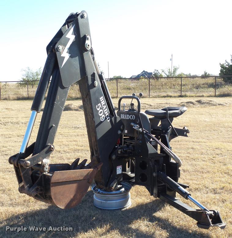 Bradco 509 backhoe attachment