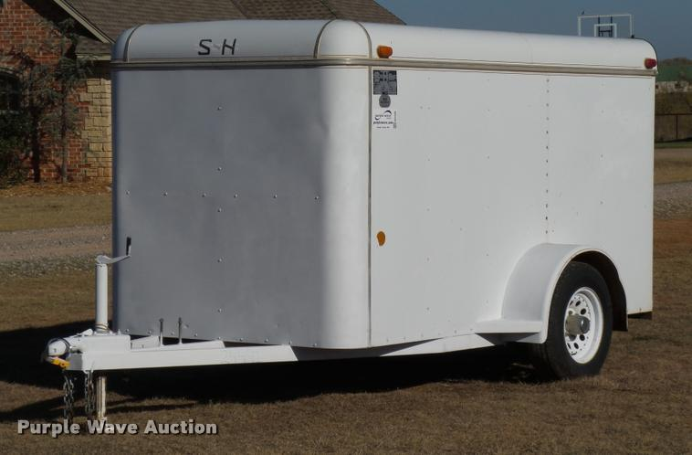 1994 S&H enclosed cargo trailer