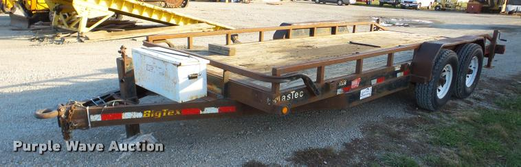 2008 Big Tex utility trailer