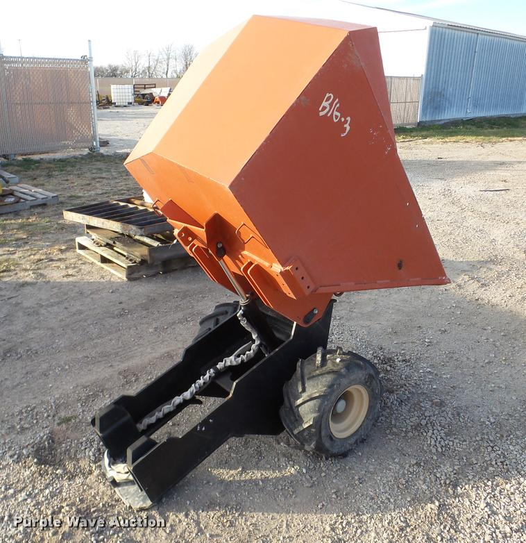 2008 Ditch Witch dump bed cart
