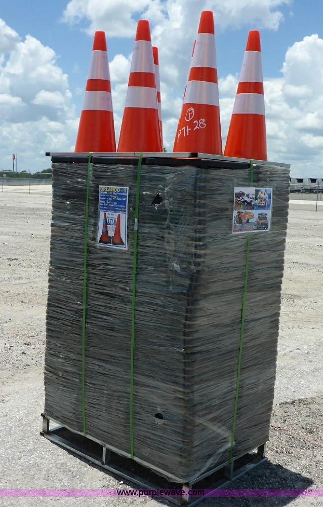 (252) PVC pylons