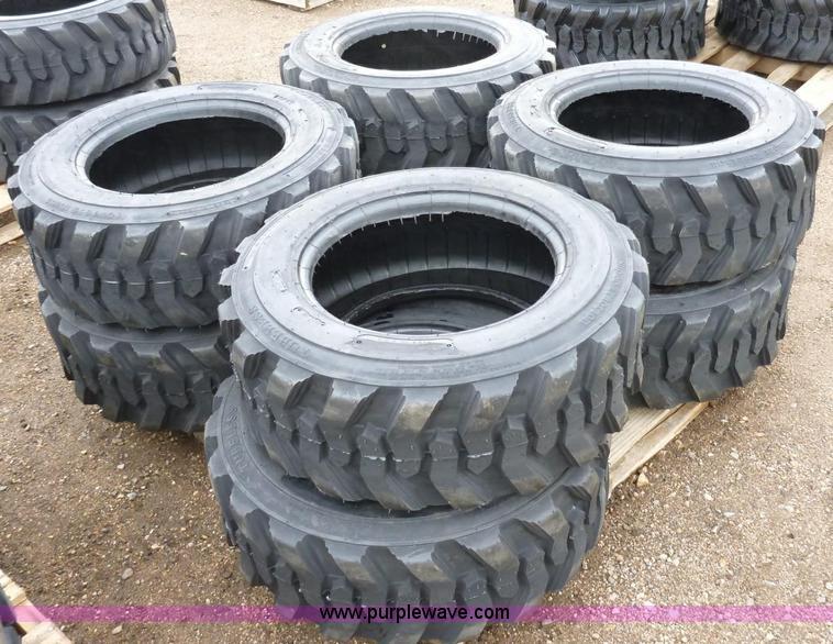 (8) 12x16.5 tires