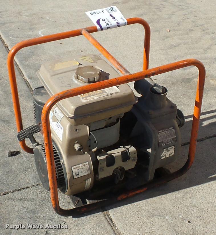 Koshim trash pump