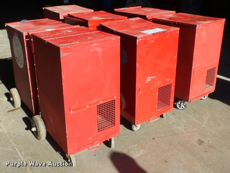 (7) Prime Temp dehumidifiers