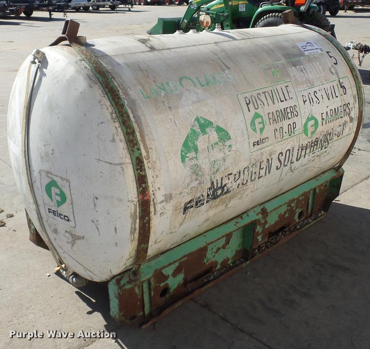 Aluminum water tank