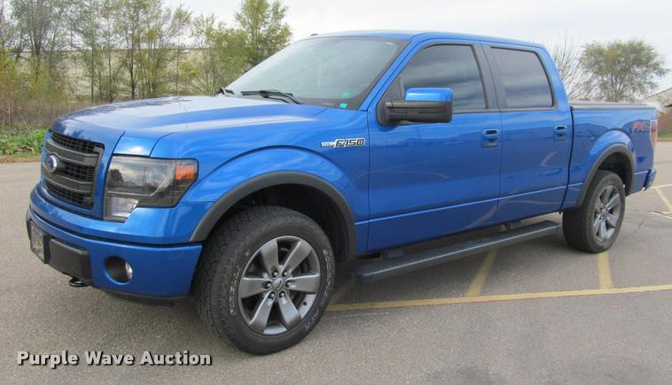 2013 Ford F150 FX4 SuperCrew pickup truck
