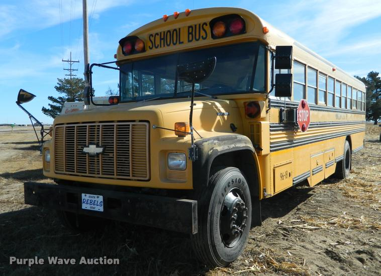 1997 Chevrolet CV200C school bus