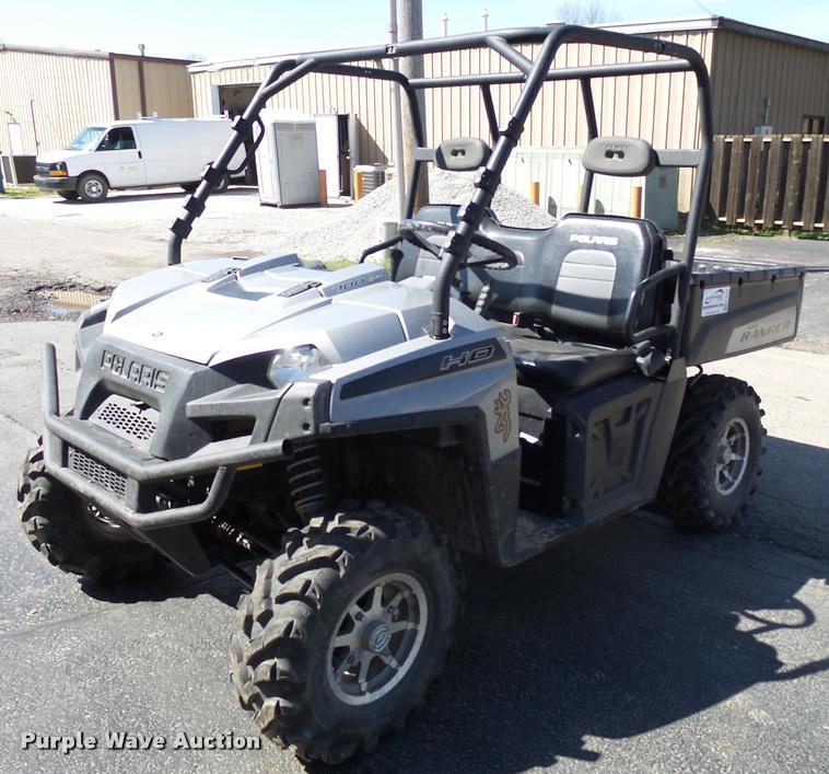 2009 Polaris Ranger HD700 utility vehicle