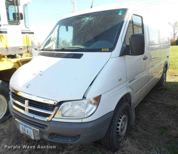 2006 Dodge Sprinter 2500 van