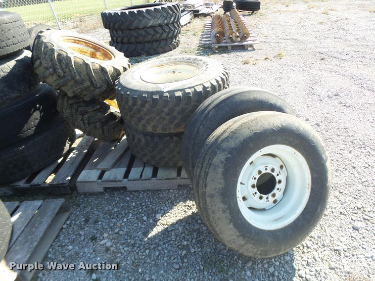(6) tires