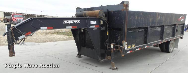 2006 Travalong dump trailer