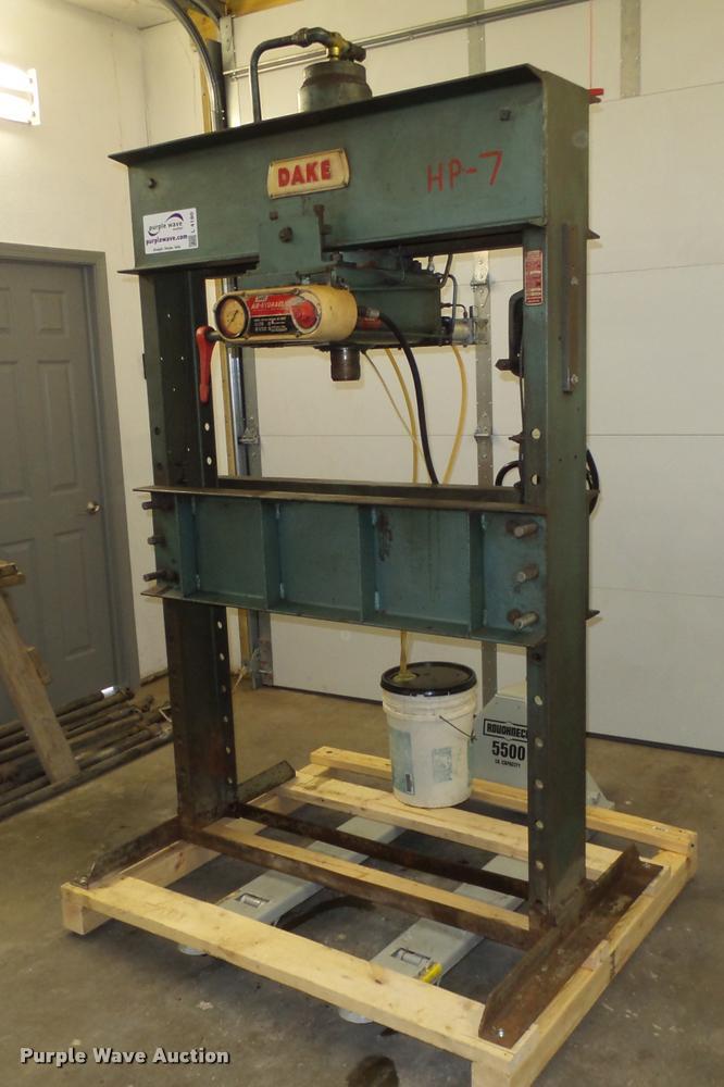 Dake 6-475 press