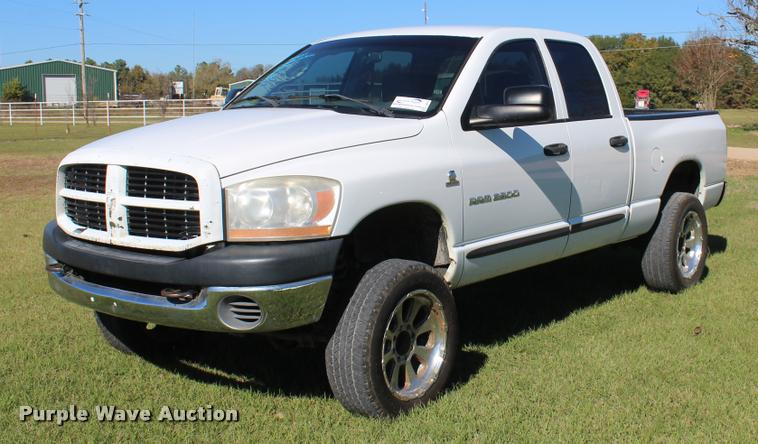 2006 Dodge Ram 2500 Quad Cab pickup truck