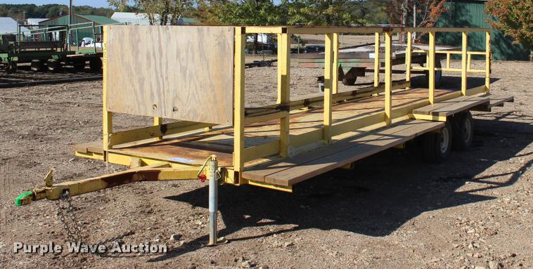 Nursery/plant trailer