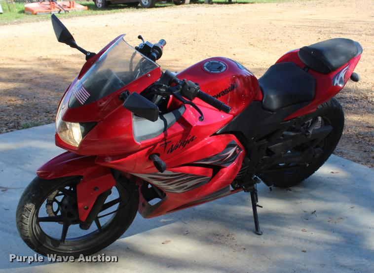 2008 Kawasaki Ninja EX250 motorcycle