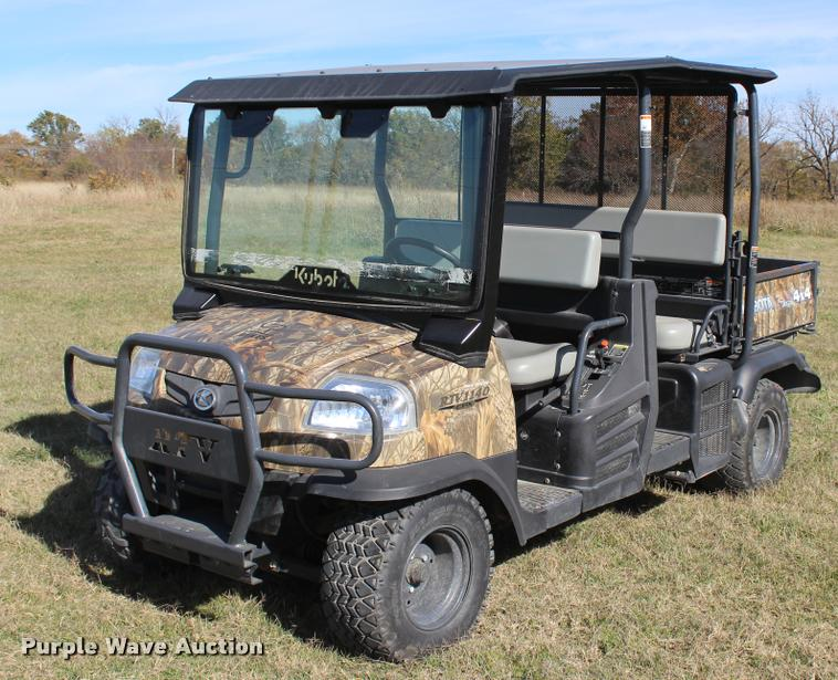 2014 Kubota RTV1140CPX utility vehicle