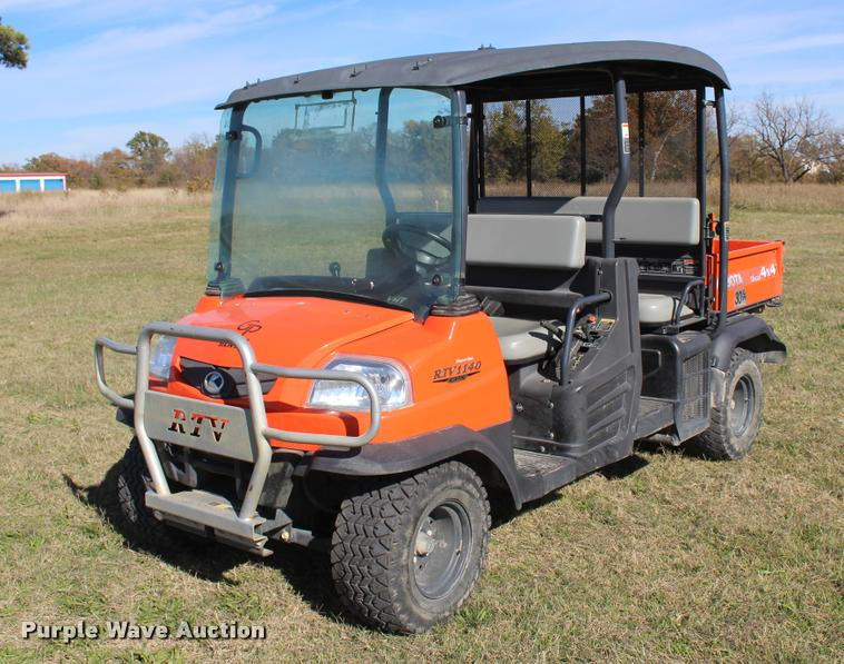 2013 Kubota RTV1140CPX utility vehicle
