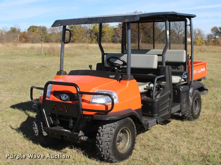 2011 Kubota RTV1140CPX utility vehicle