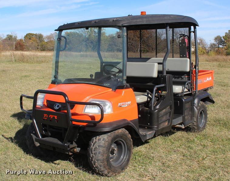 2012 Kubota RTV1140CPX utility vehicle