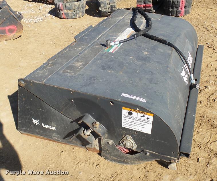 2015 Bobcat skid steer sweeper