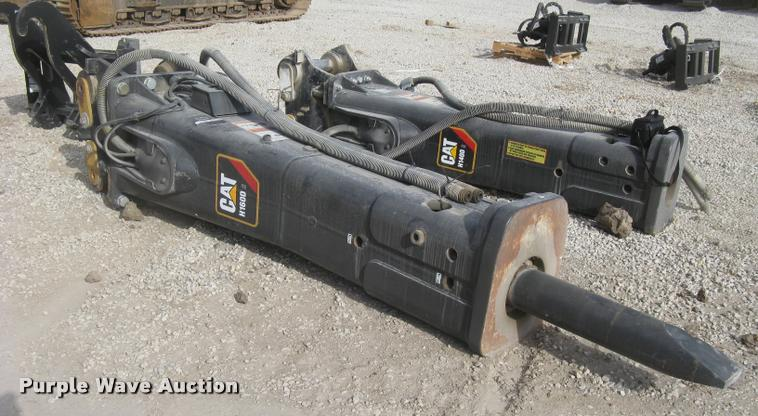 2010 Caterpillar H160DS hydraulic hammer