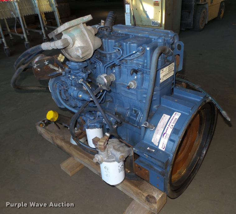 Detroit Diesel D704LTE 2.8L four cylinder turbo diesel engine