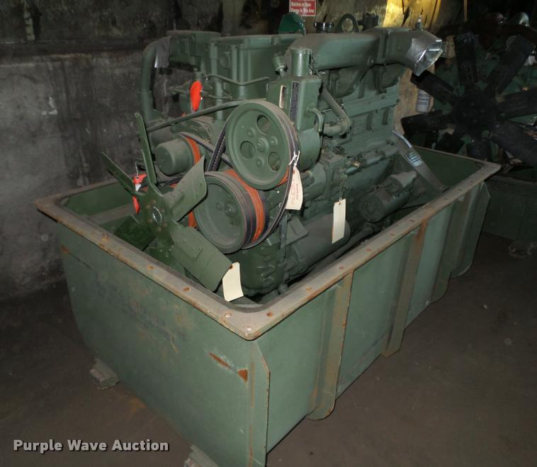 Cummins NHC-250 six cylinder diesel engine