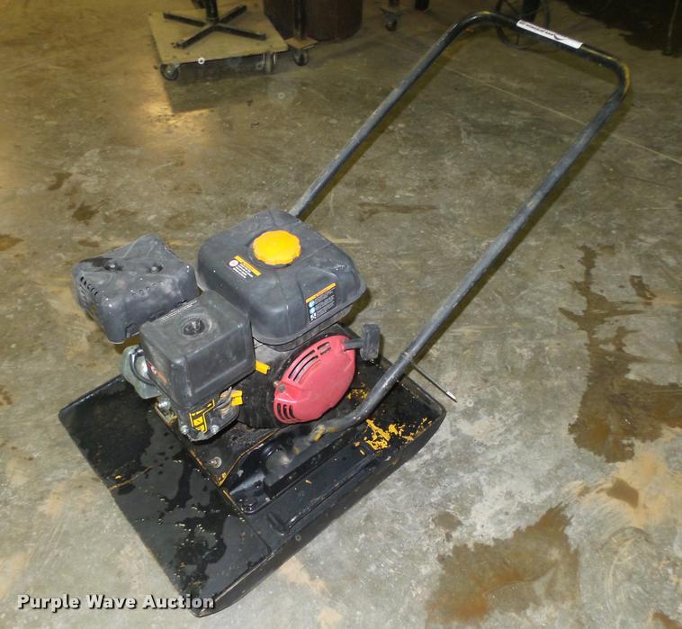 Wacker VPG160R plate compactor