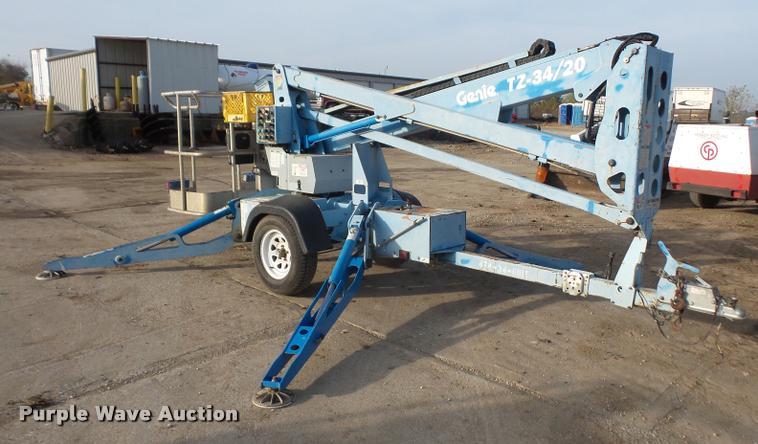 2006 Genie TZ-34/20 boom lift