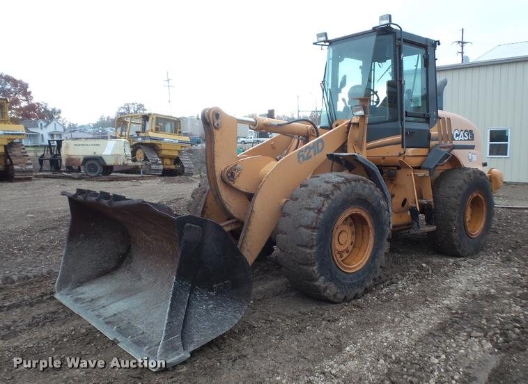 2005 Case 621D wheel loader