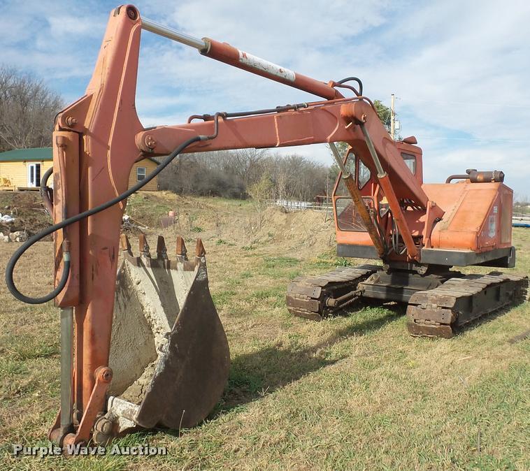 1958 Bantam C450 excavator