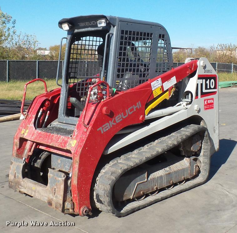 2013 Takeuchi TL10 skid steer