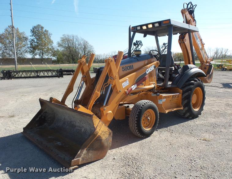 2001 Case 580M backhoe
