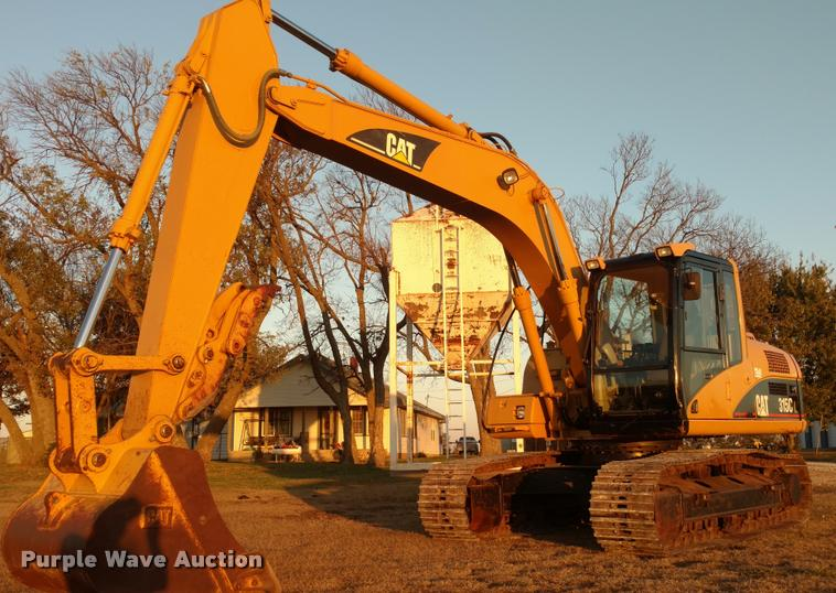 2003 Caterpillar 315C L excavator