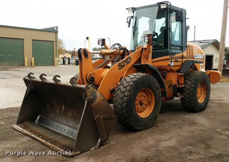 2004 Case 521D wheel loader