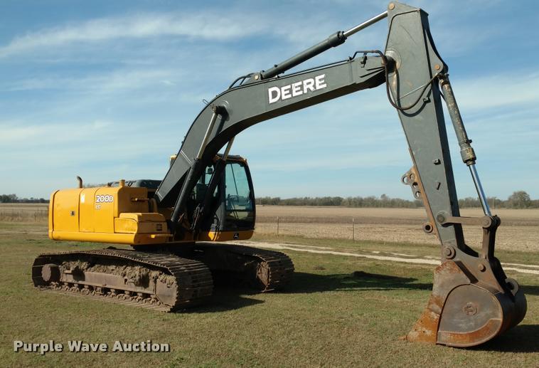 2008 John Deere 200D LC excavator