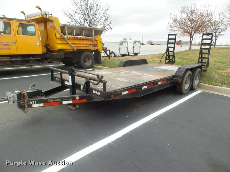 2008 Maxey utility trailer