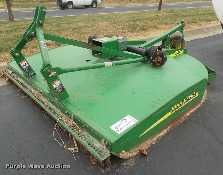 2008 John Deere MX7 rotary mower