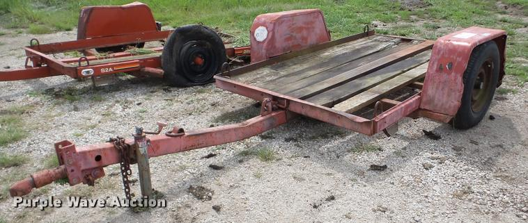 1998 Ditch Witch S2A tilt deck equipment trailer