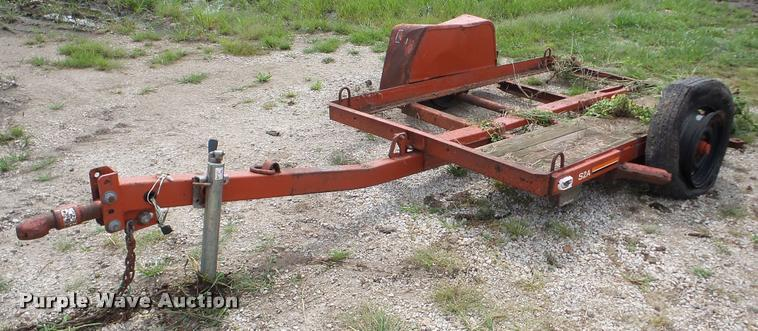 2005 Ditch Witch S2A tilt deck equipment trailer