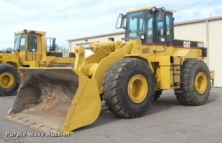 1993 Caterpillar 966F Series II wheel loader