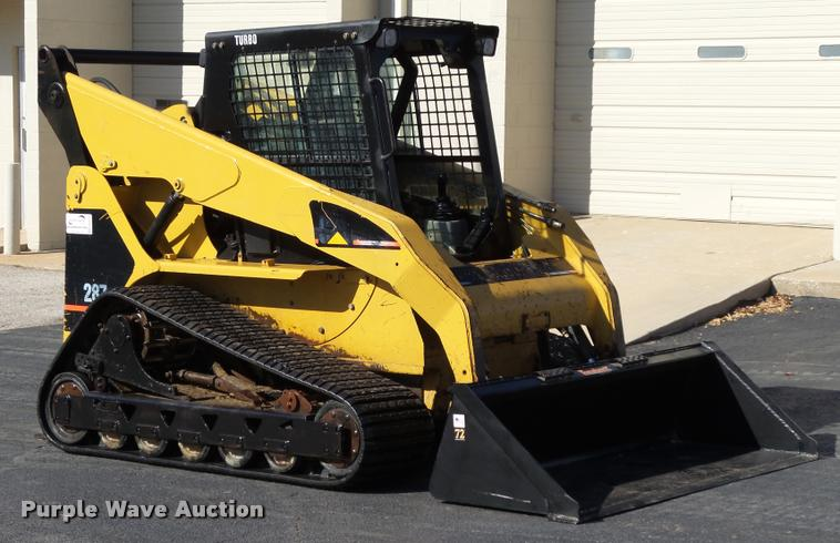 2003 Caterpillar 287 skid steer