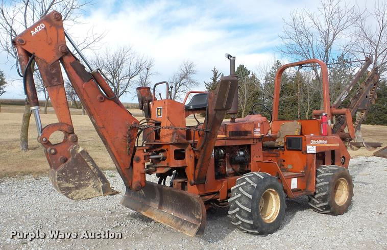 1987 Ditch Witch 4010D trencher